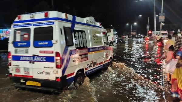 108 ambulance water login