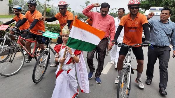 BSF fit india run