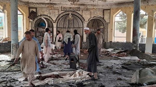 Attack on Shia mosque in Kandahar: અફઘાનના કંધારની શિયા મસ્જિદ પર હુમલો, નમાઝ દરમ્યાન થયેલા બોમ્બ બ્લાસ્ટમાં 16 લોકોના મોત