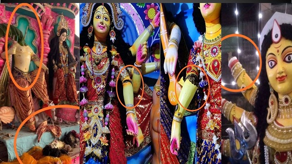 Durga puja pandal: બાંગ્લાદેશમાં દુર્ગા પૂજા પંડાળોમાં કટ્ટરવાદીઓએ કરી તોડફોડ, ભારતના વડાપ્રધાનને હસ્તક્ષેપ કરવા અપીલ
